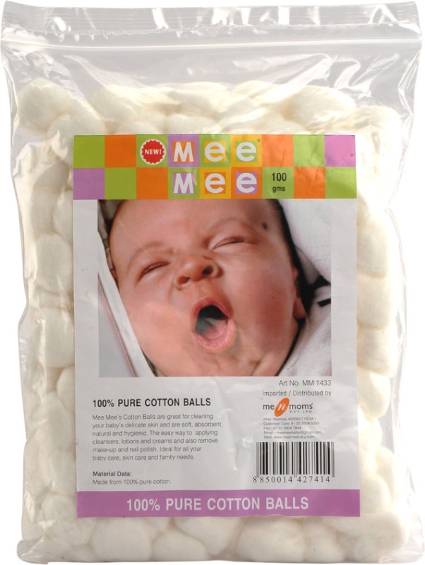 Mee Mee 100% Pure Cotton Balls MM-1433