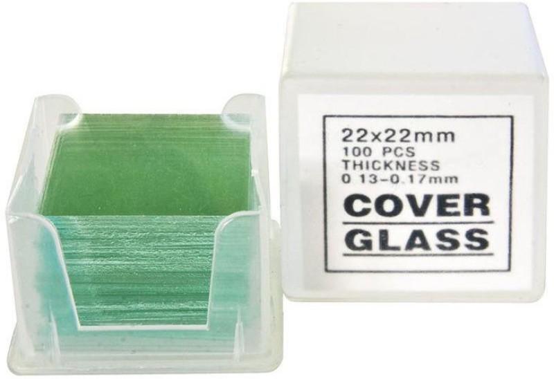 JAINCOSCIENTIFIC CS18MM Blank Cover Slip(Square Pack of 200)