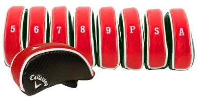 Callaway Golf Premium Iron Head Covers Stick Cover S(Red)