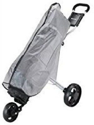 Stowmatic Waterproof Plastic Rain Cover for Golf Bag & Cart Bag Cover Free Size(Grey)