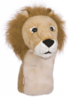 Daphne's Headcovers Wood Lion Club Cover L(Brown)