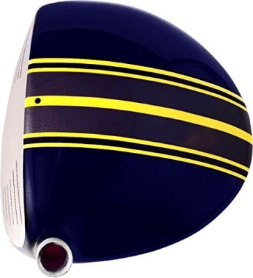 ClubCrown TRIPE Golf Driver and Fairway Wood Customized Alignment Aid Club Cover Free Size(Blue, Yellow)