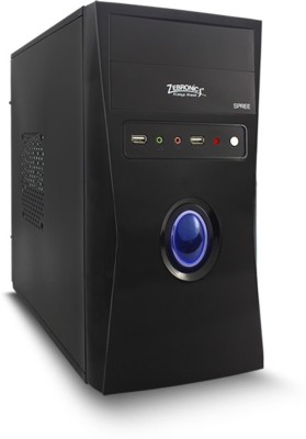 Zebronics Intel Core 2 Duo Desktop Cpu Mini Tower with Core 2 Duo E7500 4 RAM 500 Hard Disk
