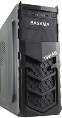 Basama Toofan Mid Tower with I3 530 4 RAM 1000 Hard Disk