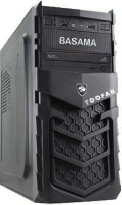Basama Toofan T81000D Mini Tower with CORE I-3 530 8 RAM 1 Hard Disk