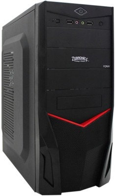 Zebronics Cabinte+DVD Mid Tower with Core 2 Due 2.8Ghz DDR3 4 RAM 250 Hard Disk