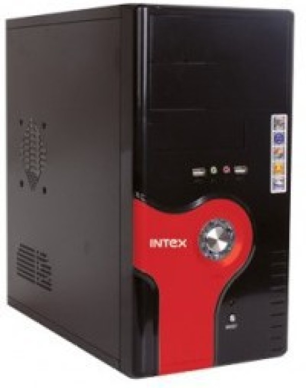 Intex Dash Assembled CPU Mini Tower with Core 2 Duo 2 RAM 160 Hard Disk(Free DOS)