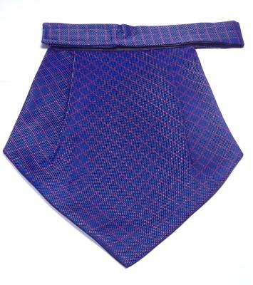 Mentiezi Purple Printed Micro Fibre Cravat