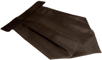 The Vatican Plain Black Colour Cravat(Pack of 1)