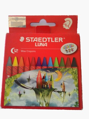 Staedtler Round Shaped Wax Crayons