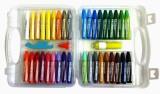 Shrih Round Shaped Wax Crayons (Set of 3...