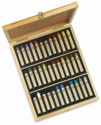 Sennelier Round Shaped Oil Pastel Crayons