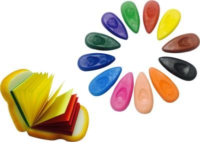 Priyankish Oval Shaped Wax Crayons