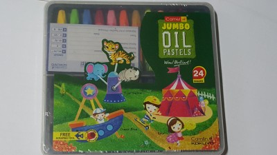 camlin hexagonal Shaped wax Crayons