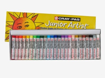 Sakura Round Shaped Oil Pastel Crayons