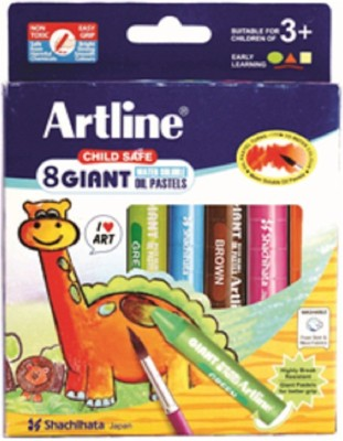 Artline Sachihata Round Shaped Plastic Washable Crayons