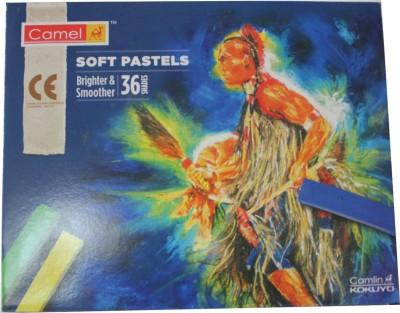 Camlin Rectangle Shaped Soft Pastels Crayons