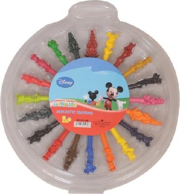 Disney Round Shaped Plastic Crayons