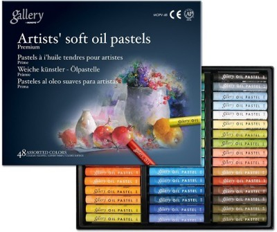 Mungyo Gallery Artists, Round Shaped Soft Oil Pastels Crayons