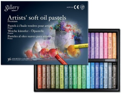 Mungyo Gallery Artists, Round Shaped Soft Oil Pastel Crayons