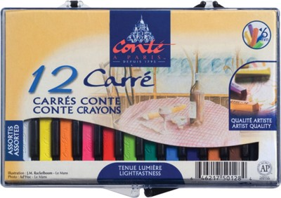 Conte a Paris Square Shaped Crayon