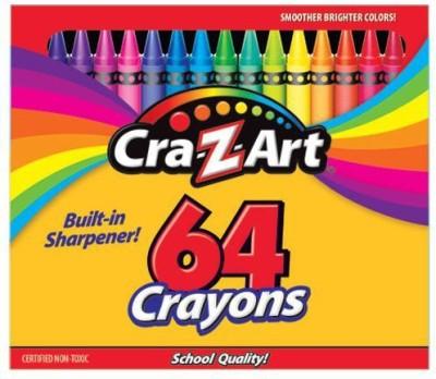 Cra-Z-Art Round Shaped Wax Crayon Crayons