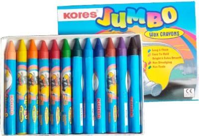 Kores Crayons Round Shaped Wax Crayons