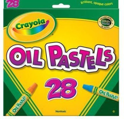 Crayola Round Shaped Oil Pastels Crayons