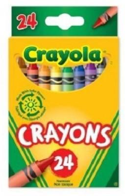 Crayola Pencil Shaped Wax Crayons