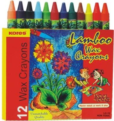 Kores Lamboo Round Shaped Wax Crayons