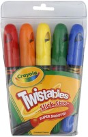 Crayola Rectangle Shaped Plastic Crayons(Set of 5, Multicolor)