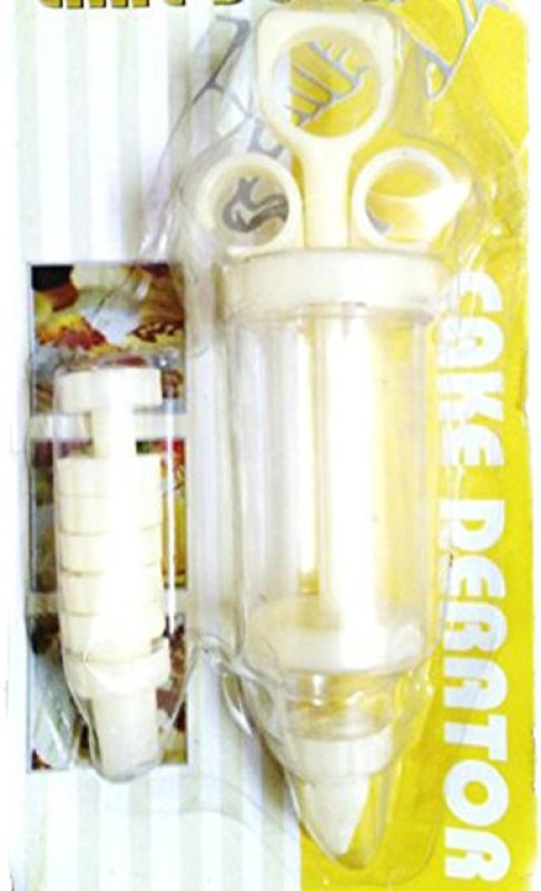 Lowprice Online Decorating & Icing Syringe Piping Set with 7 Nozzles Cream Dispenser(250 ml)