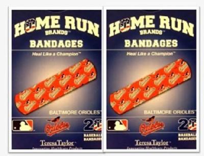 MLB Baltimore Orioles Bandages Crepe Bandage(3.5 cm)