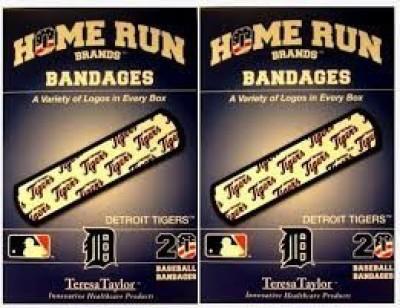 MLB Detroit Tigers Bandages Crepe Bandage(3.7 cm)