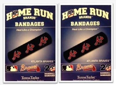 MLB Atlanta Braves Bandages Crepe Bandage(1.5 cm)