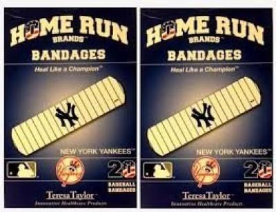 MLB New York Yankees Bandages Crepe Bandage(2.6 cm)