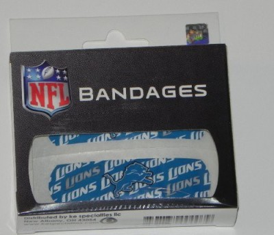 KE Specialities Detroit Lions Bandages Crepe Bandage(7 cm)