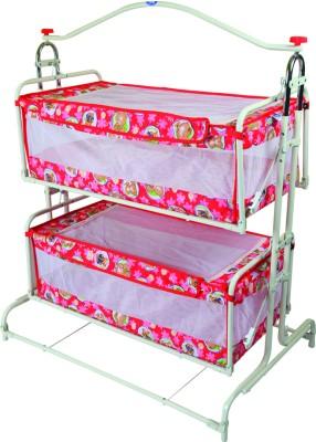 New Natraj Twins Cradle(Red)