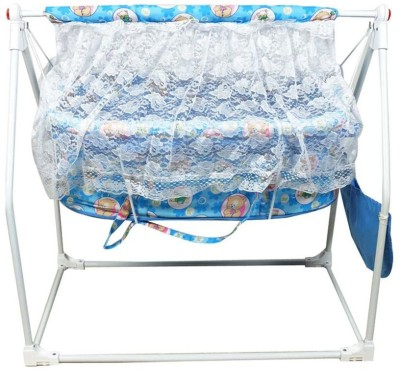 Variety Gift Centre Deluxe Cradle Cum Cot For Kids(Blue)