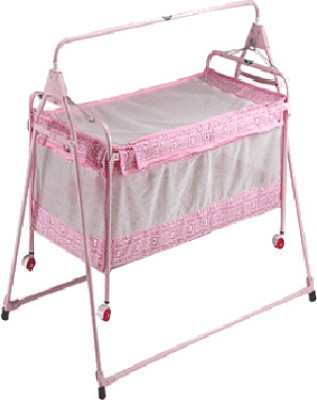 New Natraj Sleepwell Crib (Pink)