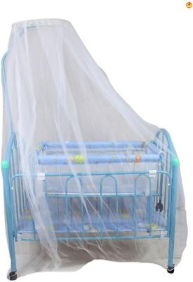 BAYBEE Elita Crib N Cradle (Blue)(Blue)