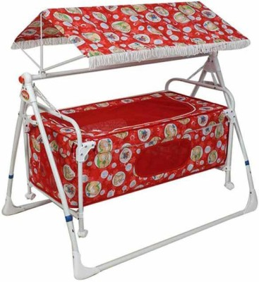 Variety Gift Centre Baby Cradle(Red)