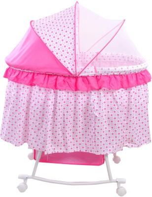Notty Ride Baby Cradle cum Rocker (Pink)