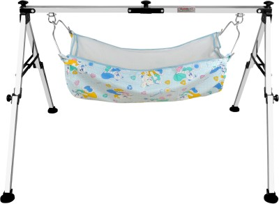 Har Bhole Stainless steel Folding NRI Baby Cradle (Ghodiyu)