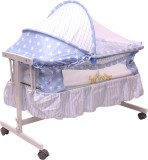 Toyhouse Baby Cradle with Swing Function...