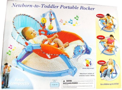 Just Toys Newborn Toddler Baby Portable Rocker.