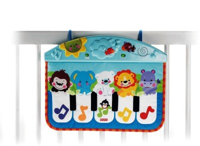 Fisher Price Kick and Play Cute Animal Piano for Kids