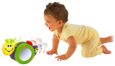 Fisher-Price Go Baby Go 1-2-3 Crawl Along Snail