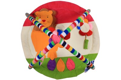 Ole Baby Twist and Fold Musical Activity Newborn PlayMat With Mosquito Net