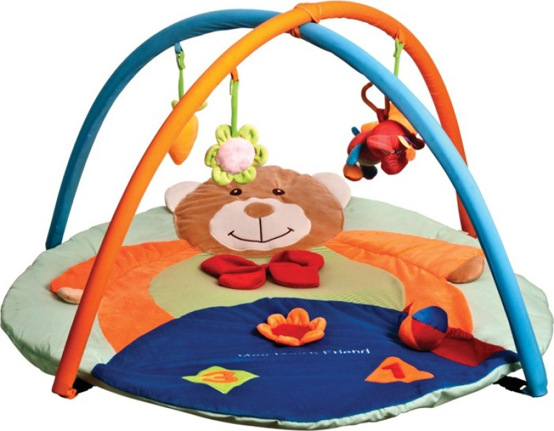 Mee Mee Deluxe Musical Activity Play Gym(Multicolor)